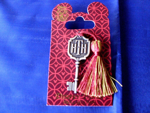 Disney Tower of Terror New on Card Retired Attraction Pin HOTEL ROOM KEY