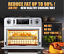 AOBOSI TOASTER OVEN ELECTRIC -AIR FRYER CONVECTION DIGITAL NEW! ROTISSERIE