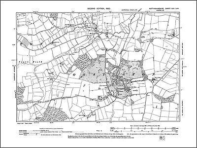Old Ordnance Survey Map Newark Nottinghamshire 1900 Sheet 35.03  Brand New Map