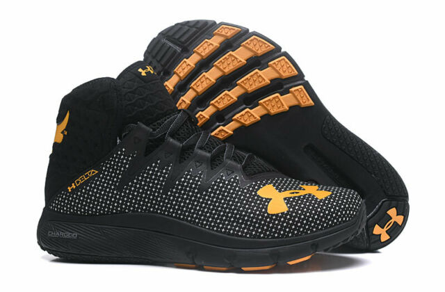 Fashion HOT Men/'s Under Armour Curry 4 High TRAINING Basketball Shoes Size