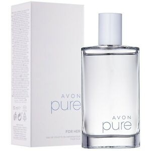 Avon Pure Womens Eau De Toilette Spray Genuine Perfume 50ml Ebay