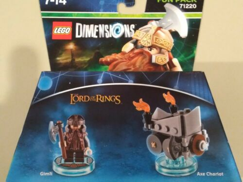 Lego Dimensions Fun Pack 71220 Gimli Lord of the Rings NEW NEUF