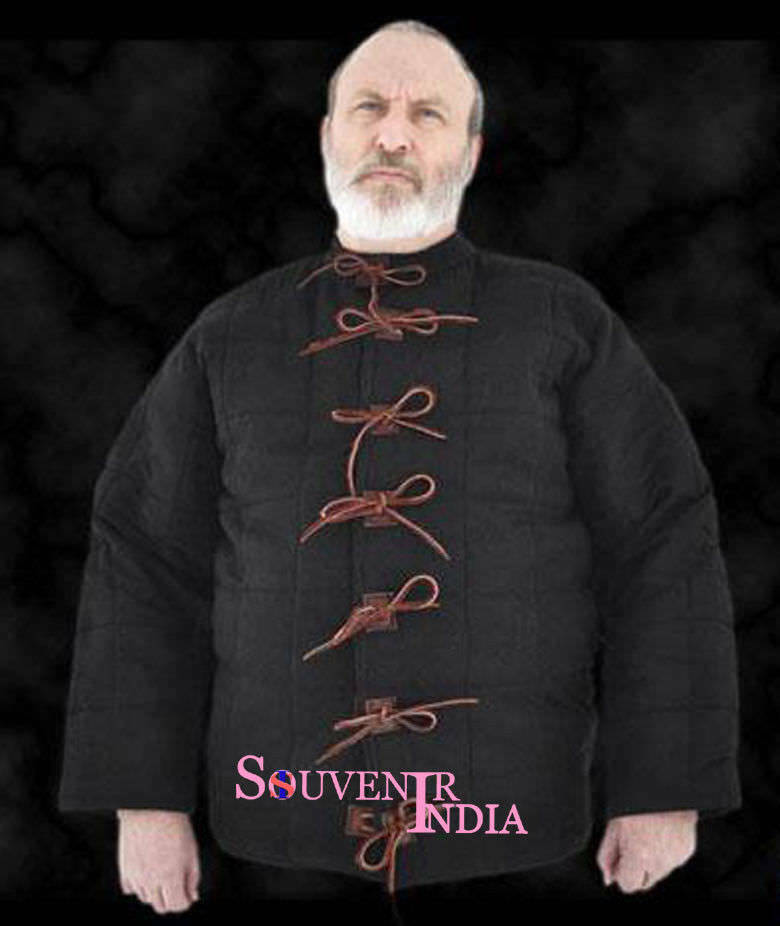 Medieval Thick Padded Gambeson suit of armor quilted costumes theater larp RTQ1