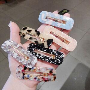Acrylic-Hair-Clips-Snap-Leopard-Hairpins-Barrettes-Women-Hair-Accessories