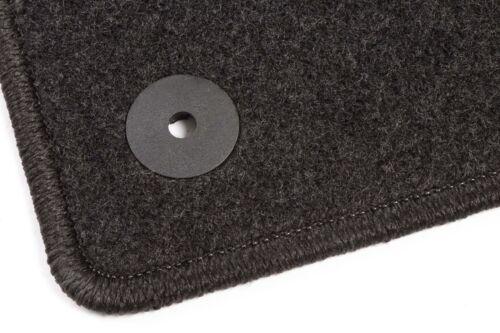 2011 VW Jetta VI 6 Bj Graphit Textil Fußmatten Anthrazit