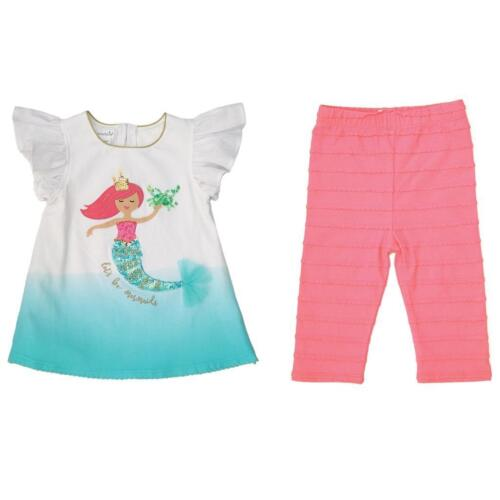 Mud Pie Mermaid Collection Tunic and Legging Set