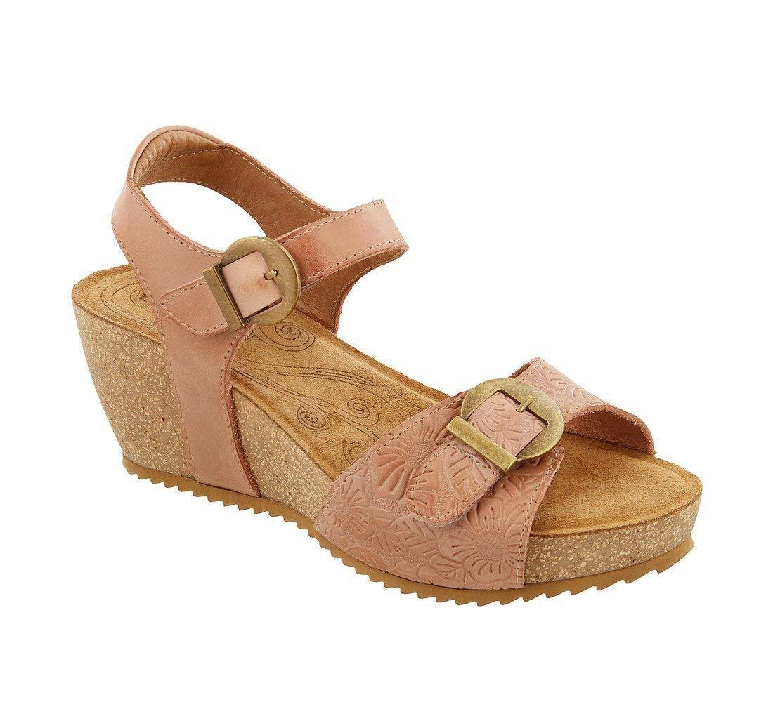 Taos Tallulah bluesh Platform Wedge Sandal US 7.5 EU 38