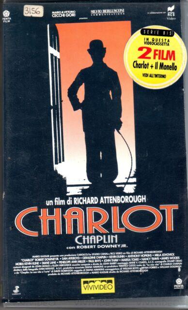 Charlot + IL MONELLO (1992) VHS ViViVideo  2 Film in 1  - Attenborough
