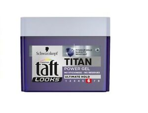 Schwarzkopf-Taft-Looks-Titan-Power-Gel-Hair-Styling-Paste-Ultimate-hold-250ml