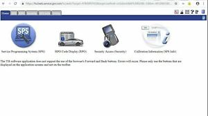 GM TIS2web OEM reprogramming online access (SPS) for Module Programming 1 Month