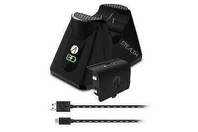 Stealth Xbox One Single Charging Dock - Black (Xbox One) *Brand New* XB1