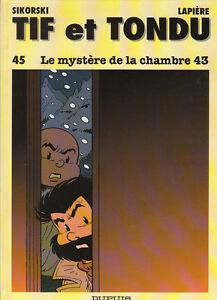 Tif-et-Tondu-45-Le-mystere-de-la-chambre-43-RARE