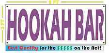 HOOKAH BAR Full Color Banner Sign FOR Vapor E-CIG & Smoke Shop
