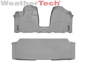 Groovy Details About Weathertech Floorliner For Dodge Grand Caravan W Bench Seat 2013 2019 Grey Pabps2019 Chair Design Images Pabps2019Com