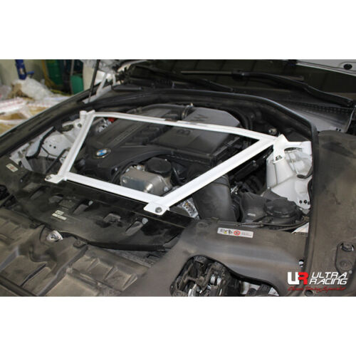FOR BMW F-06 640i Gran Coupe ULTRA RACING 4 POINTS FRONT STRUT BAR UPPER BRACE