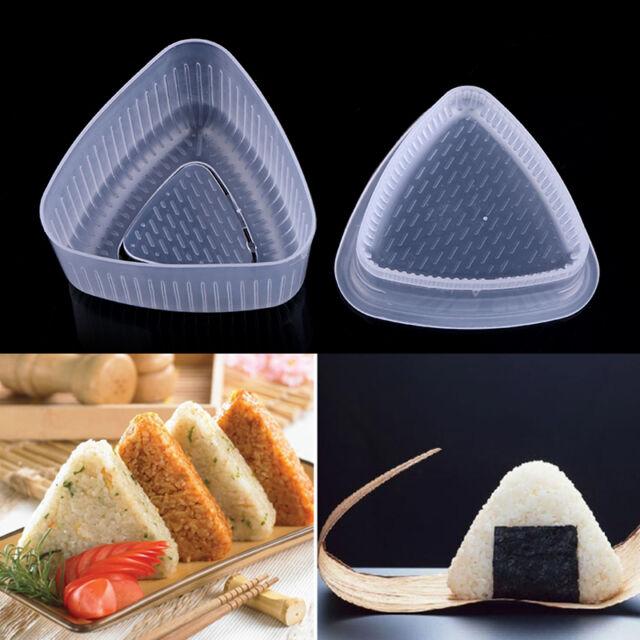 Japanese Triangle Form Onigiri Sushi Rice Ball Bento Press DIY Maker Mold Mould