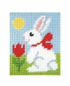 Bunny-rabbit-embroidery-needlepoint-kit-9703-Orchidea