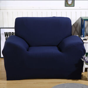 Single Seat Sofa Cover Protector Loveseat Chair Arm Couch Cover ...