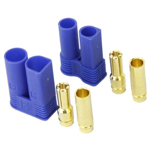 5 Pairs of EC5 Banana Plug Bullet Connector Female+Male for RC ESC LIPO Ba E3W6