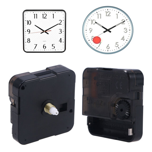 DIY Quartz Wall Clock Movement Mechanism Battery Operated Parts Replacement