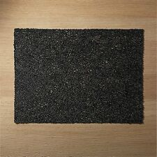Crate and & Barrel/cb2 CHILEWICH SCRIBBLE BLACK PLACEMATS- S/4- NWT-Easy Clean