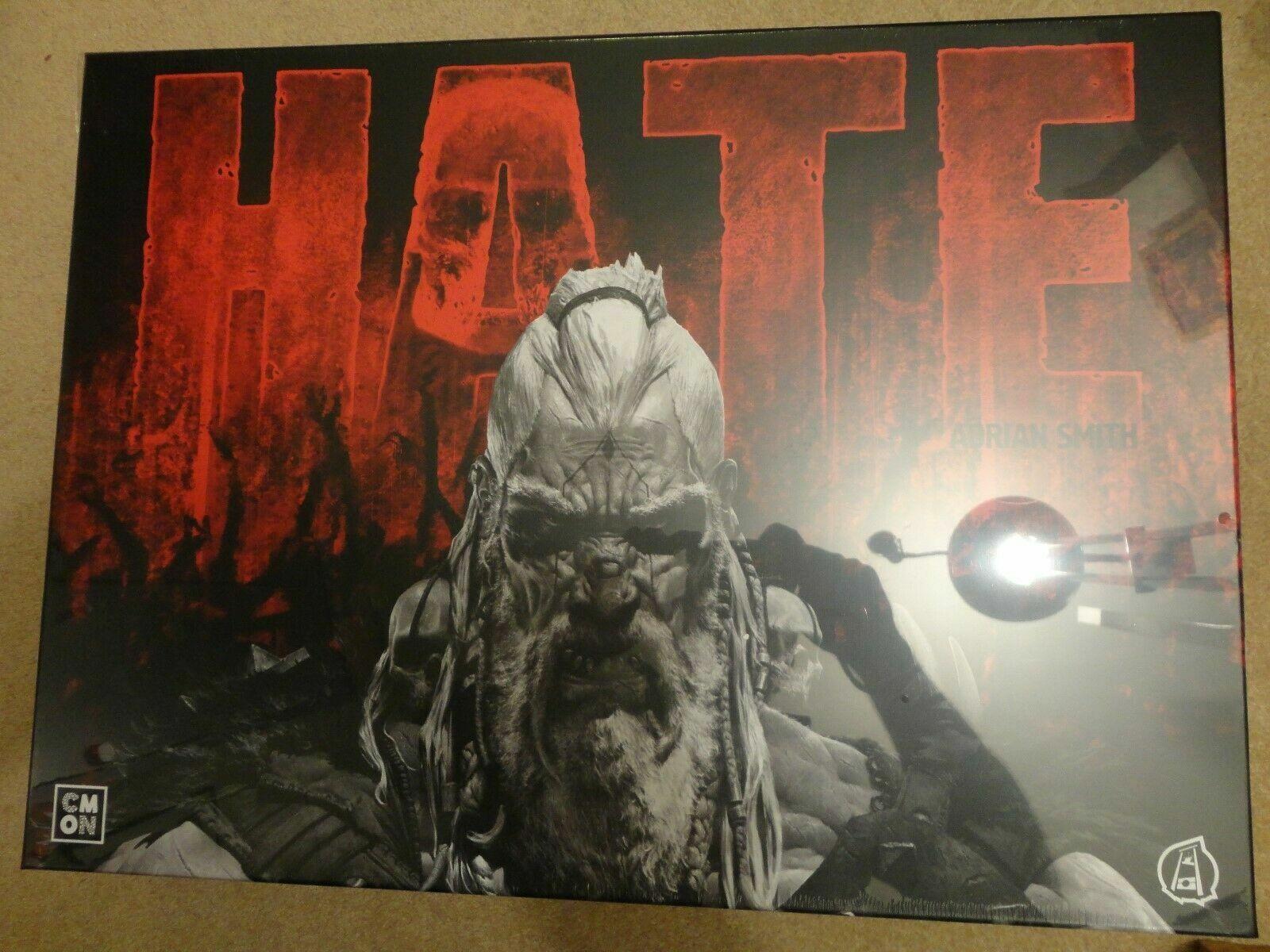 Haine Board Game pédale de démarrage Exclusive-Tyran promesse + Stretch objectifs + add-ons-rea