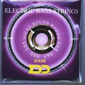 dadi eb140 electric bass guitar string set 4 strings nickel 45 105 cheap price ebay. Black Bedroom Furniture Sets. Home Design Ideas