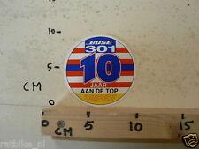 STICKER,DECAL BOSE 301 10 JAAR AAN DE TOP MUSIC MONITOR