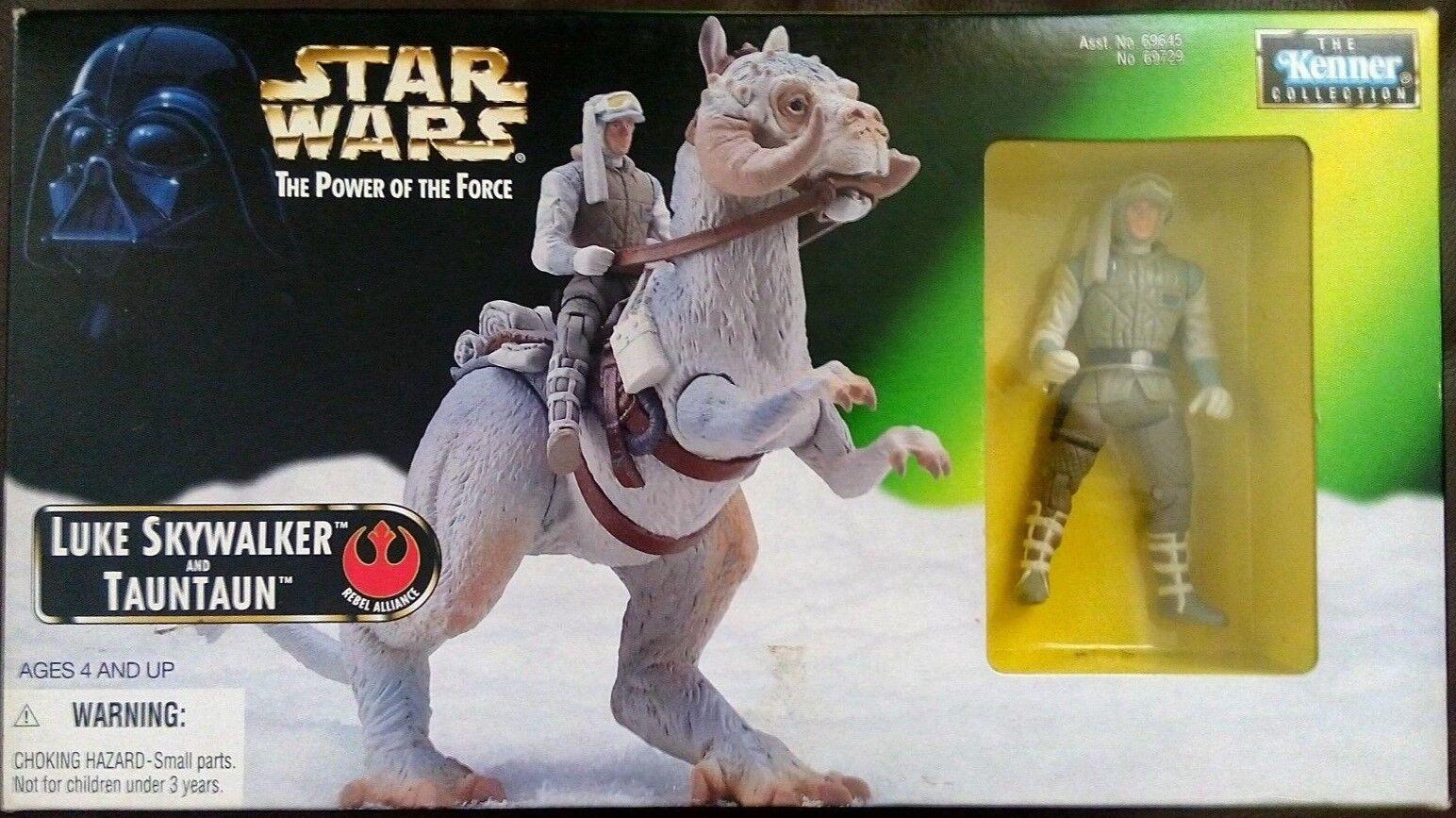 Star Wars  The Power of the Force 1997 Luke Skywalker & Tauntaun