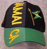 Embroidered Baseball Cap International Jamaica 1 Hat Size Fits All