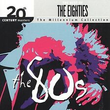 20th Century Masters: The Millennium Collection: Best of the '80s by Various Artists (CD, Aug-2000, Hip-O)