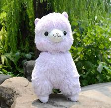 """Fresh"" Alpacasso Purple Alpaca 45cm Plush Amuse Arpakasso Fluffy Toy Gift"