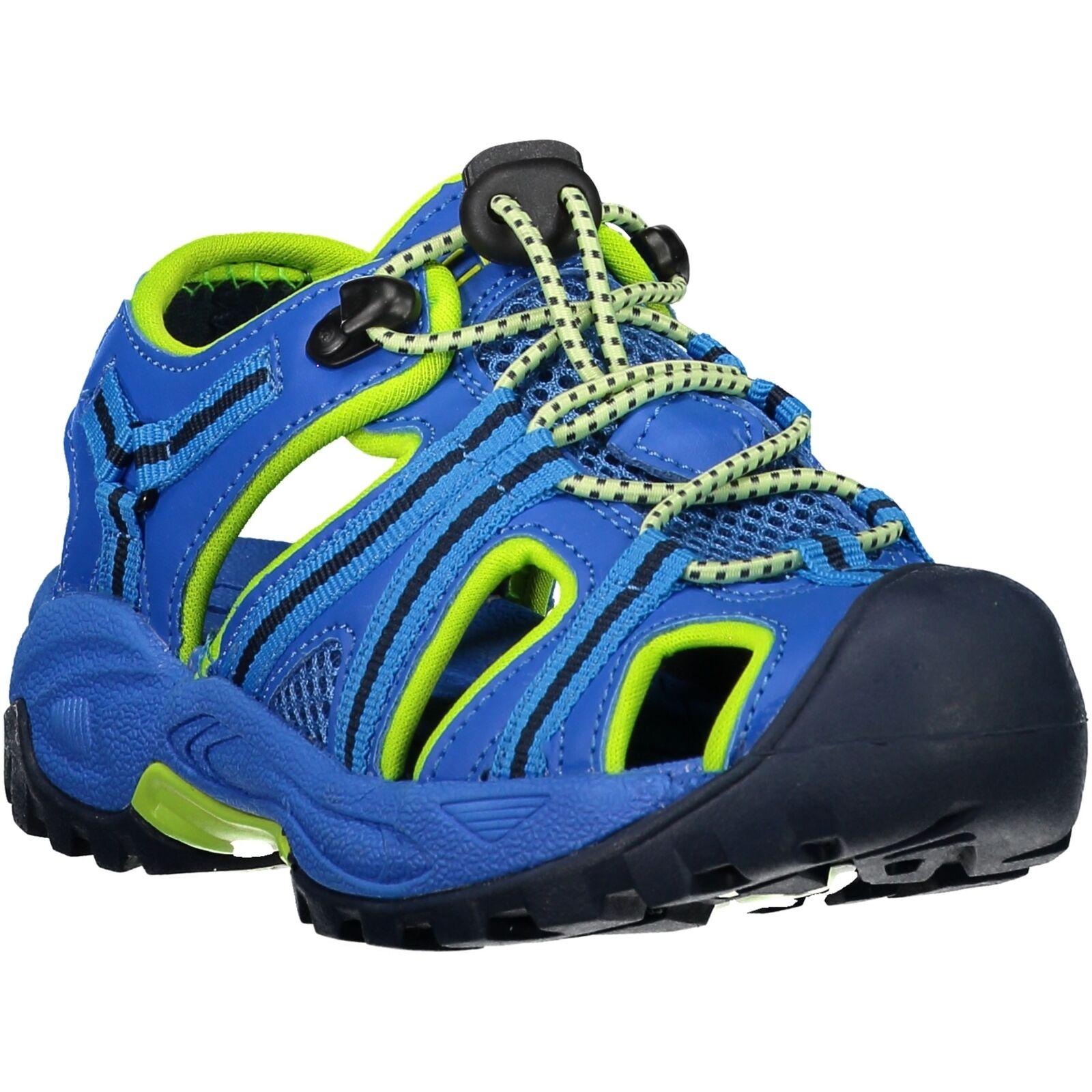 CMP  Walking Boots Kids Aquarii Hiking Sandal blue Plain Colour Textile  happy shopping