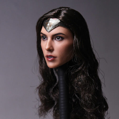 """1//6 Scale Wonder Woman BVS Gal Gadot Head Sculpt Carving Model For 12/"""" Figure"""