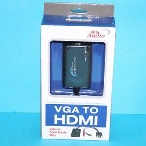 Microconnect-mongghdmi-VGA-Audio-vers-HDMI-Convertisseur-Avec-alimentation-usb-et
