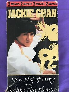 Details about Jackie Chan New Fist Of Fury Snake Fist Fighter VHS 2 Movies