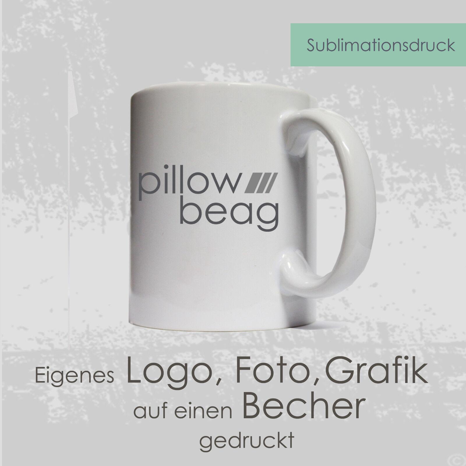 36 Fototassen eigenes Logo Bild Becher Sublimation Kaffeetasse Kaffeebecher Foto