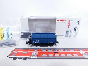 CQ738-0-5-Maerklin-H0-AC-46049-Schienenreinigungswagen-DB-Tuete-Pads-NEUW-OVP