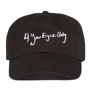 265e4917b Details about NEW J Cole 4 Your Eyez Only Dreamville TDE Born Sinner Dad  Hat Strapback Cap