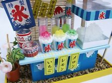 Doll House Billy Handmade kit Japanese Retro Series yatai festival shaved ice JP