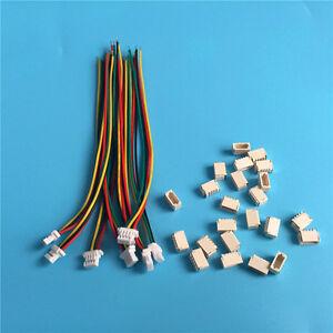 Micro-Mini-Stecker-1-0mm-4-Pin-mit-Kabel-10cm-28AWG-JST-SH-kompatibel