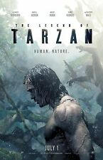 "The Legend Of Tarzan movie poster (c) - Alexander Skarsgard poster - 11"" x 17"""