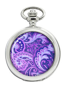 Paisley-Pattern-Purple-Pocket-Watch