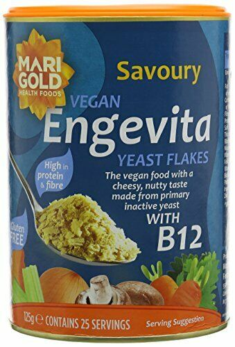 Engevita Savoury Yeast Condiment With B12 125 g Pack of 3