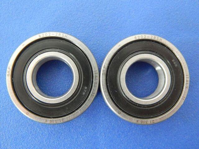 2 Piezas SKF 6202 2RSH (15x35x11 Mm) Rodamiento, Rodamientos (2RS, 2RSR)