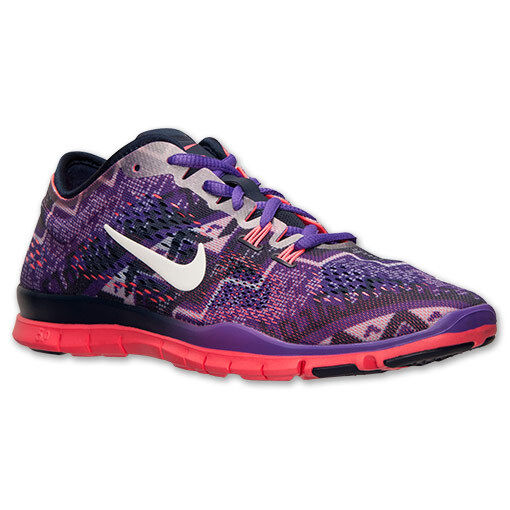 aca603bc8a75 Women s Nike Free 5.0 TR Fit 4 Print Print Print Training Shoes ...