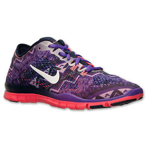 7224dda59d0b Women s Nike Free 5.0 TR Fit 4 Print Training Shoes