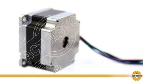DE Free 5PCS Nema23 Schrittmotor 23HS4430-06 3A 41mm 0.6Nm D-Shaft Φ6.35mm 85oz