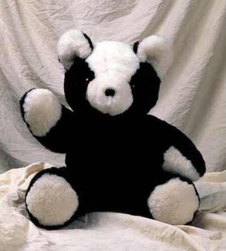 100% SHEEPSKIN CUSTOM MADE LARGE TEDDY BEAR-MOVEABLE ARMS & LEGS-ASSORTED COLORS