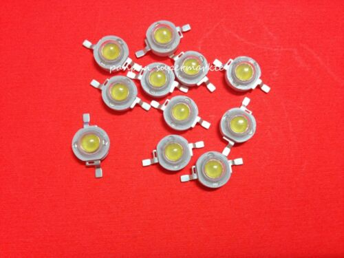 100pcs 3W cold white 10000k  20000k 30000k  LED High Power bead